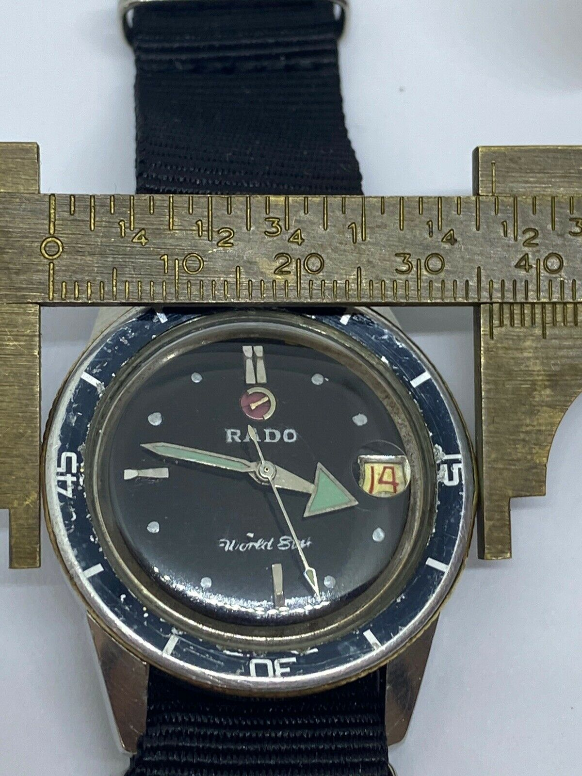 Vintage Rado Diver Captain Cook Water Sealed